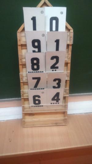 состав числа домик